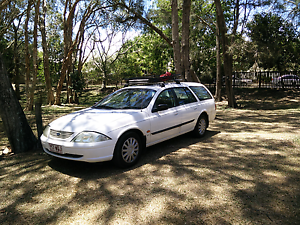 2002 Ford Falcon wagon, camping gear included Cairns Cairns City Preview