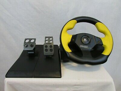 Logitech Wingman Driving Formula GP E-UF5  PC Racing Wheel & Pedals Tested for sale  Shipping to South Africa