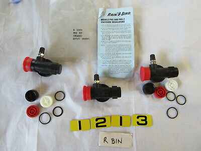 RAINBIRD 28SE9-1 B33105 PRESSURE REGULATOR KIT   LOT OF 2 + SEE PHOTO