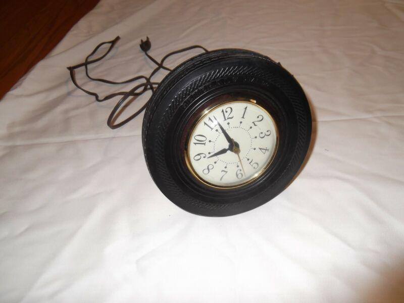 General Tire Clock Black