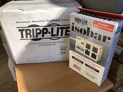 1 Case Premium Surge Suppressor Tripp- Lite Isobar4 Case Of 6 4 Outlets