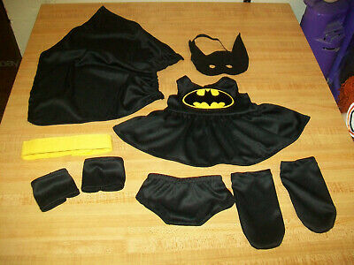 9 PC BATGIRL DC SUPERHERO OUTFIT FOR 16-18