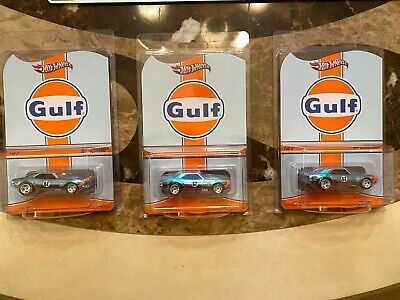HOLY GRAIL RARE Mint Hot Wheels RLC Gulf 67 Camaro Toy Car 64th Scale Collector