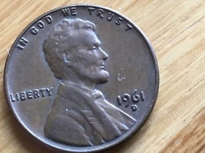 1961 one cent american 1 cent America