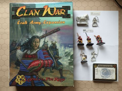AEG Clan War Crab Army Expansion Box Set + Crab Personalities 2 3 10-108 10-109
