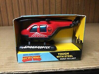 1984 Buddy L marvel super heroes Secret wars spider copter CASE FRESH