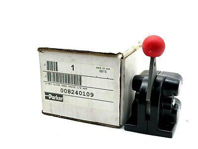 New Parker 008240109 4-way Slide Seal Valve 14