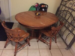Dining table set seats 6