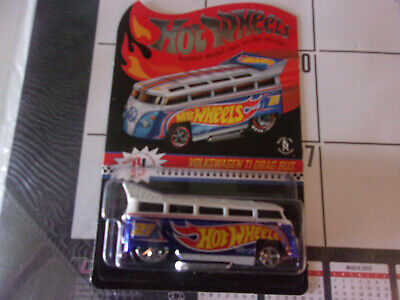 HOT WHEELS RED LINE CLUB VOLKSWAGEN T1 DRAG BUS FREE SHIPPING
