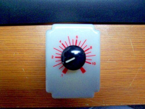 😉 DAYTON TIME DELAY RELAY 0.1 to 10 SEC 120 VOLT AC 8-PIN DPDT SOCKET 5X828F