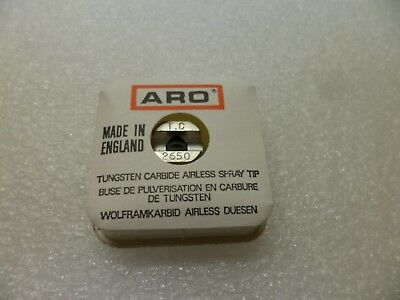 Aro Tc2650 Tungsten Carbide Airless Spray Tip Genuine Aroir Part Nos