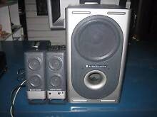 Altec Lansing 321 computer speakers 2.1 plug in your phone or pc Shailer Park Logan Area Preview
