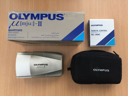 MINT Olympus Mju II (Stylus Epic) Kit w/ Remote & Acc