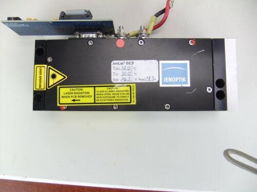 Jenoptik Jenlas D2.3  532nm Thin-Disk DPSS Laser, Tested >