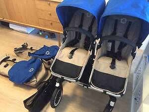 Bugaboo Donkey Twin Pram with manufacture warranty CBD Pickup Duo Surry Hills Inner Sydney Preview
