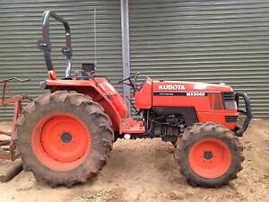 Tractor Kubota MX5000 50hp 4X4 Myrniong Moorabool Area Preview