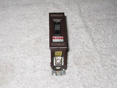Wadsworth A150 50 Amp 1 Pole 120240v Metal Tab Circuit Breaker