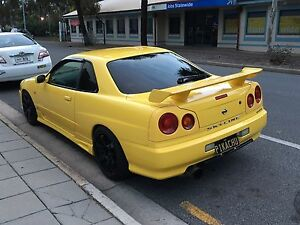 1998 NISSAN R34 GTT COUPE! Gulfview Heights Salisbury Area Preview