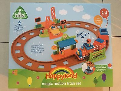 Elc Early Learning Centre Happyland Country Magic Motion Train Set