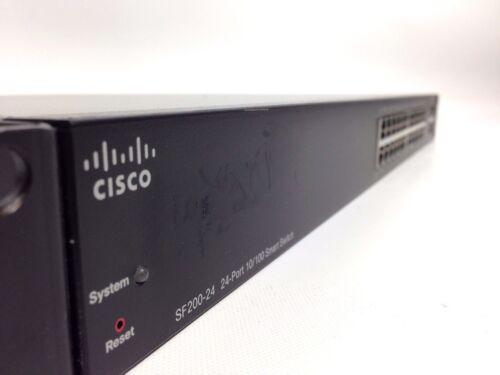 Cisco Sf200-24 24-port Poe Smart Switch