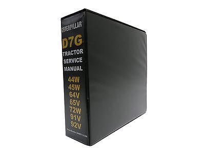 Caterpillar D7g Crawler Dozer Bulldozer Service Manual Repair Shop Book New