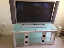 42 inch Fujitsu Plasma TV on glass-topped cabinet Kew Boroondara Area Preview