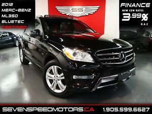 2012 Mercedes-Benz M-Class ML 350 BlueTECNAVI|CERTIFIED|1YR FREE