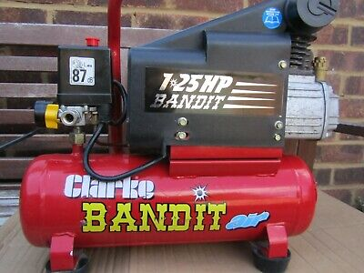 clarkes Machine Mart 8L 5.5 CFM Direct Drive Portable Air Compressor