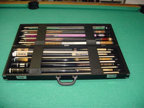 BRAND NEW DELUXE 10x10 DEALER CUE CASE pool billiards 10-3950