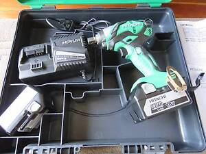 Hitach 18V Impact Driver Set WR18DSDL BRAND NEW 5.0Ah RRP$679 Coogee Eastern Suburbs Preview