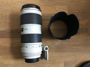 Canon 70-200 2.8 II IS (10/10 Condition)