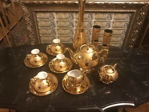 Vine & Tea Set Made In Italy