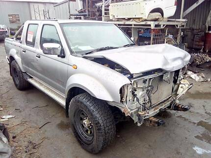 Wrecking 06 Nissan Navara D22 DCab Ute MT 4WD 170604, Parts Only