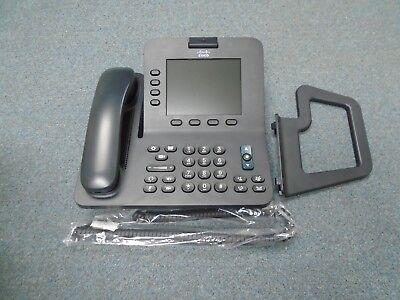 Cisco Unified Ip Voip Cp 8945 K9 Poe Gigabit Voice Web Cam Video Telephone Blk