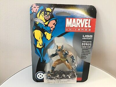 - WOLVERINE - Dane-Elec - Marvel Universe - 4GB USB Drive - NEW