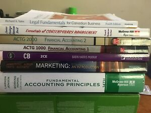 NSCC Business Administration  / Marketing Text Books
