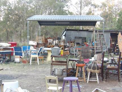 Tons of old vintage collectable things and retro rustic stuff