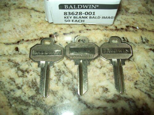3 Uncut Baldwin 5 Pin Key Blanks Model # 83628-001 Brand New