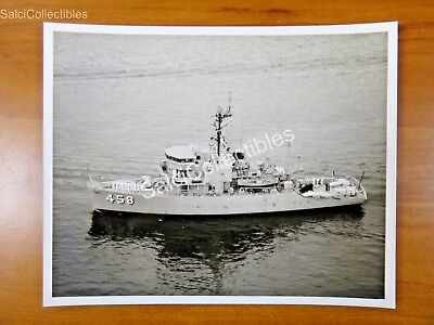 Official Navy Class Minesweeper Ship  Photo 8X10 Mso 458 Lucid