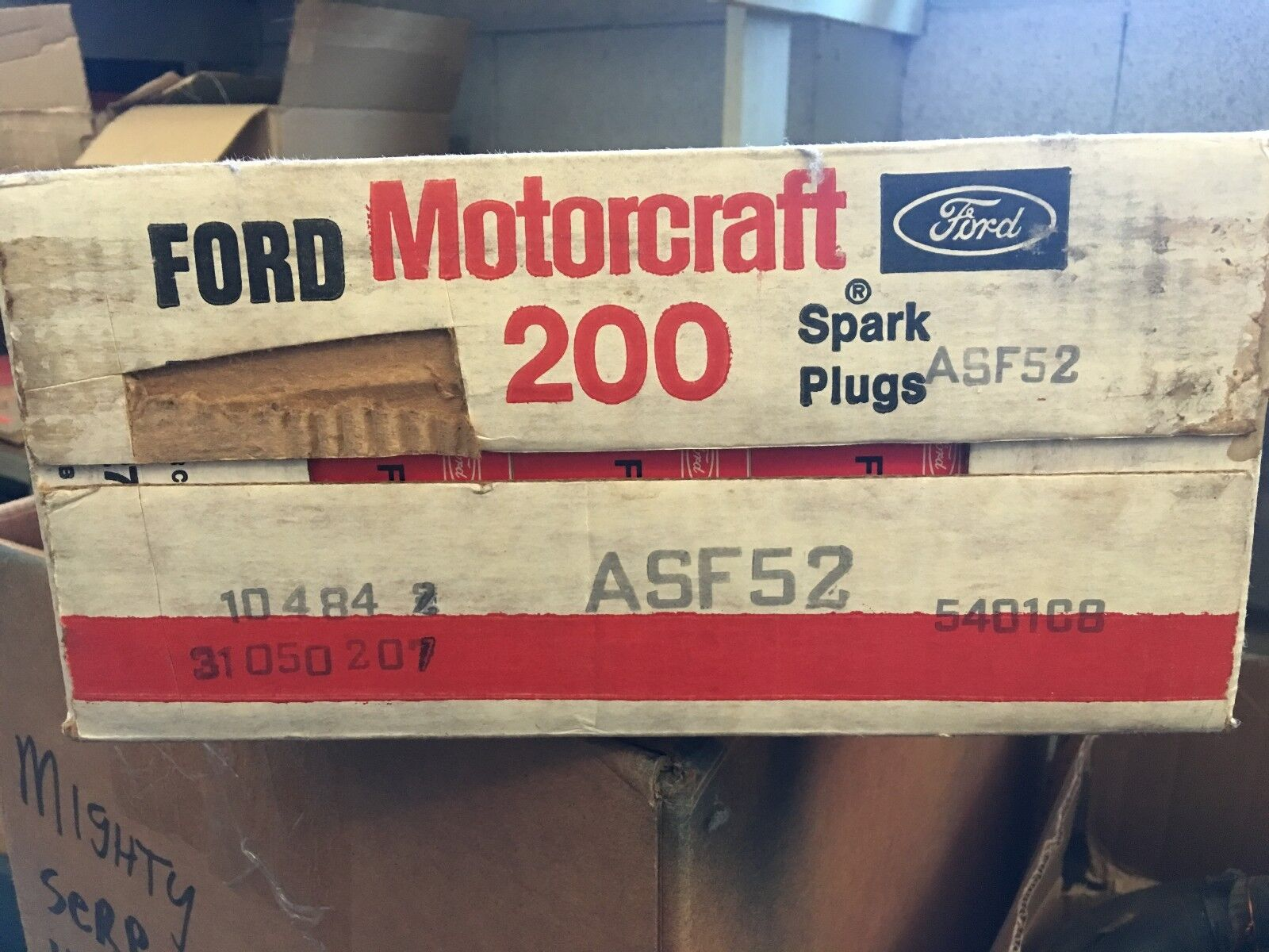 NOS Ford Motorcraft Spark Plug ASF52 Lot, 200 pcs