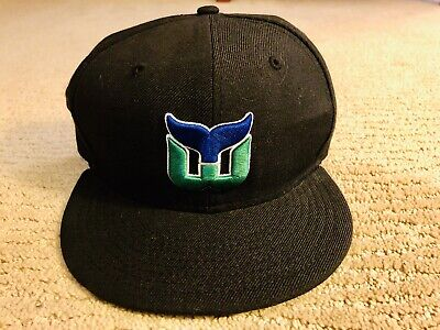 Hartford Whalers Fitted Hat - Kids 6 5/8