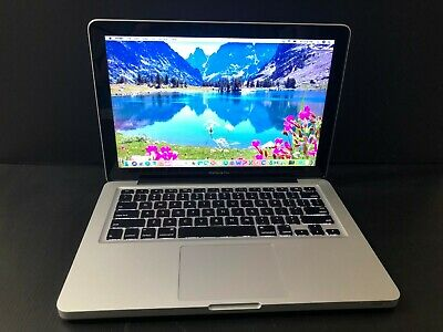 APPLE MACBOOK PRO 13 PRE-RETINA * i7 2.9GHz UPGRADED 8GB RAM 1TB HD * WARRANTY