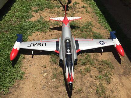 Rc Plane RC Lander T33 Thunderbird