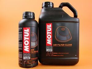 Luftfilterreiniger Luftfilteröl Motul Mc Care A1 + A3 Air Filter Set Luftfilter