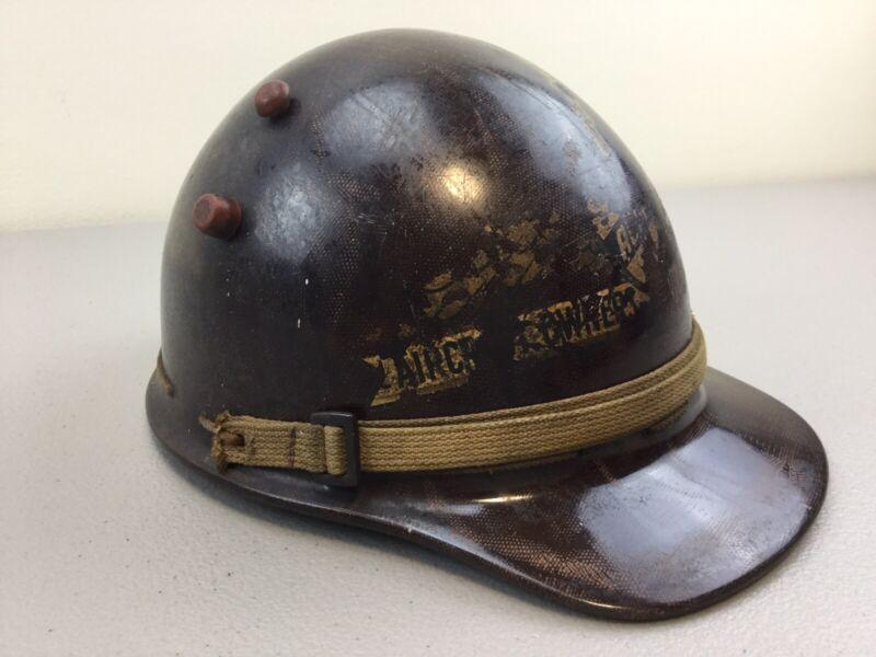 "Antique Original Pilot Helmet  "" Aircraft Owners and Pilots Associattion "". 1939"