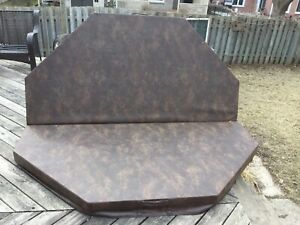 Hot tub cover - used one season. Tub gone lid available.