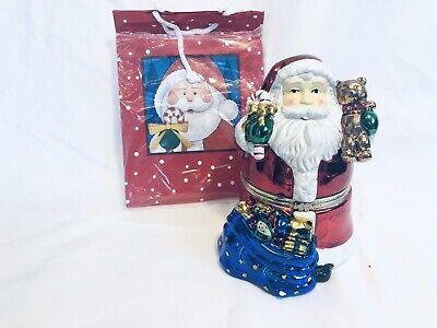 Christmas Animated Music Box (Mr. Christmas Animated Music Box Santa Claus Jingle Bells )