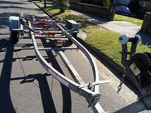 MACKAY MULTI LINK BOAT TRAILER WITH BRAKES TO SUIT UP TO 5 M Canterbury Canterbury Area Preview