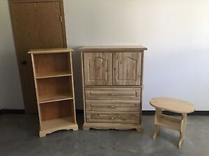 Book shelf , Armor, and coffee table  for sale