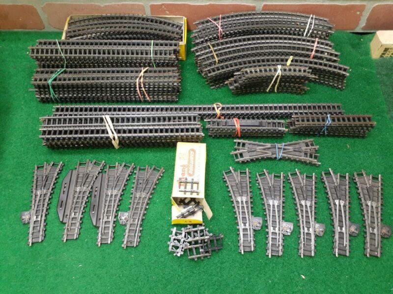 Triang Railways TT Gauge Type B Points Crossing Track 150+ Pieces